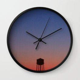 Watertower NY Wall Clock
