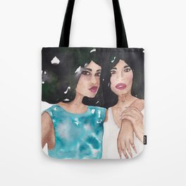 Twin Queens Tote Bag