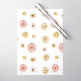 Pink & Yellow Happiness Wrapping Paper