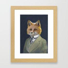 FOX FRIEND, by Frank-Joseph Framed Art Print