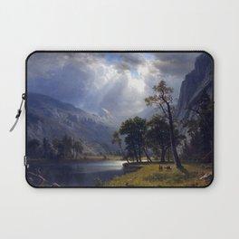 Albert Bierstadt Yosemite Valley Laptop Sleeve