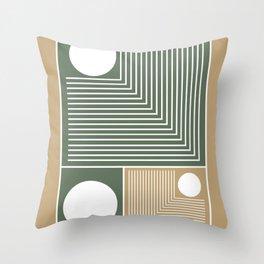 Stylish Geometric Abstract Throw Pillow