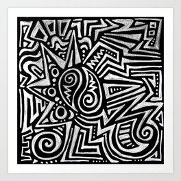 ART TRIBE Art Print