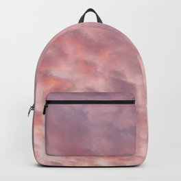 Clouds on a Sunset at Santo Domingo Backpack
