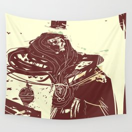 Ghost of the King Wall Tapestry