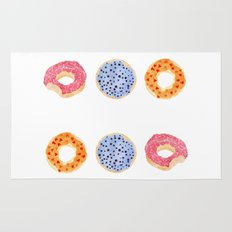 doughnut selection Rug