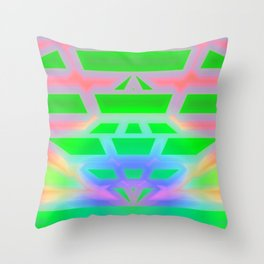 If hopes are falling through .. Throw Pillow