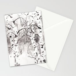 Winter Birch Stationery Cards