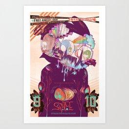 space (2017) Art Print