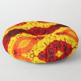 Graffitti - Infinity Series 003 Floor Pillow
