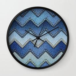 Bandana -  Vintage - Retro - 70's Wall Clock