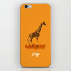 4-legged Exotica Series: Giraffe iPhone & iPod Skin