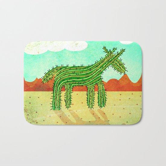 Cactus Unicorn Bath Mat