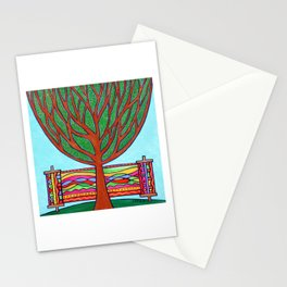 Gilded Tree of Life Stationery Cards