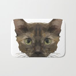 Cullen the Cat Bath Mat