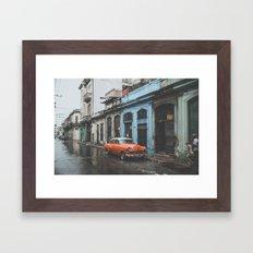 Havana V Framed Art Print