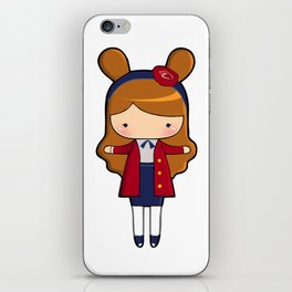 Upper East Side Bunny iPhone Skin