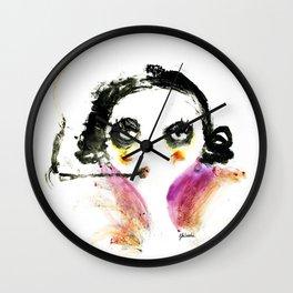 Mme Zuzu Wall Clock