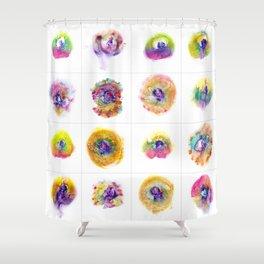 Chloe Calypso's Nipple Series Shower Curtain