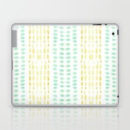 Striped dots and dashes Laptop & iPad Skin