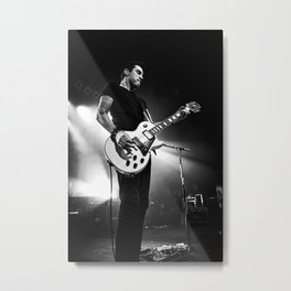 Tyler Connolly of Theory Of A Deadman - 4 Metal Print