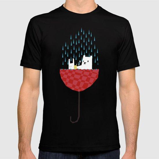 umbrella bath time! T-shirt