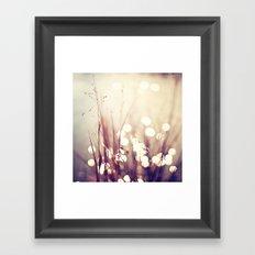 Glimmerings Framed Art Print