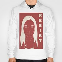 fringe Hoodies featuring The Resistance (Fringe) by error23