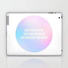 Between the words Laptop & iPad Skin