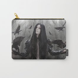Jackdaw Carry-All Pouch
