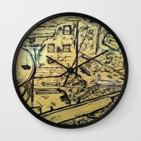soldier Wall Clocks featuring Soldier by Pedro Rafael