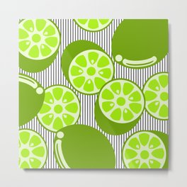 It' Party Lime! Metal Print