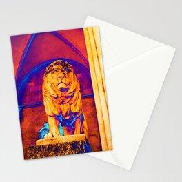 Lion - The Feldherrnhalle (Field Marshals' Hall) - Munich Stationery Cards