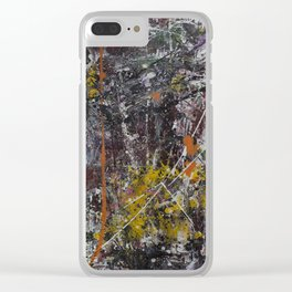 Untitled #8 Clear iPhone Case