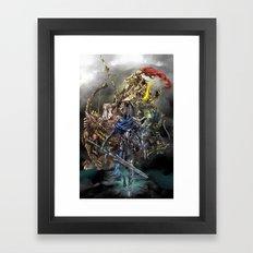 Dark Souls Knights of Gwyn Framed Art Print