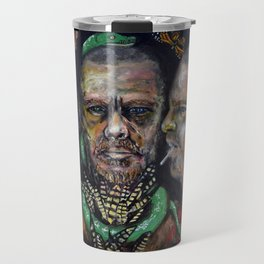 Queen of Fashion (oil on canvas) Travel Mug