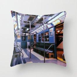 New York City // Retro 38 Throw Pillow