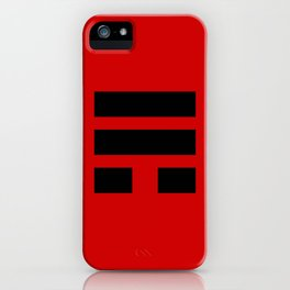 I Ching Yi jing - symbol of 巽Xùn iPhone Case