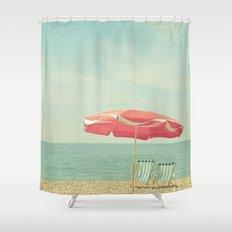 Deserted Beach Shower Curtain