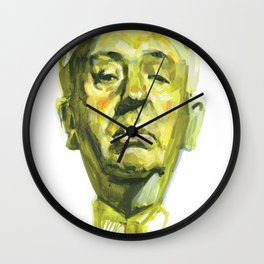 Sir Alfred Joseph Hitchcock Wall Clock