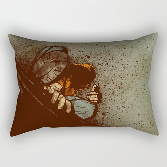 Waiting (2012 Version) Rectangular Pillow