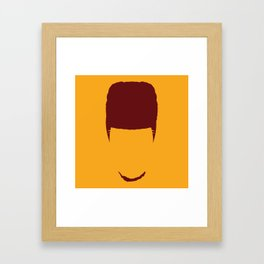 Iman Shumpert Head Framed Art Print