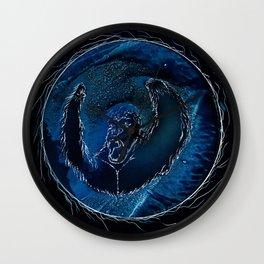 Ape in Azure Wall Clock