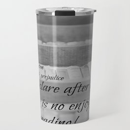 Jane Austen Reading Travel Mug