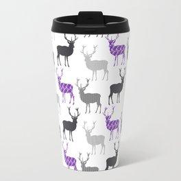 Winter Deer in the Snow Travel Mug