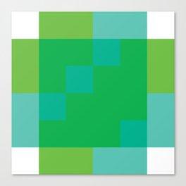 Ocean Pixel Views Canvas Print