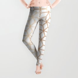 Hive Mind Rose Gold #113 Leggings