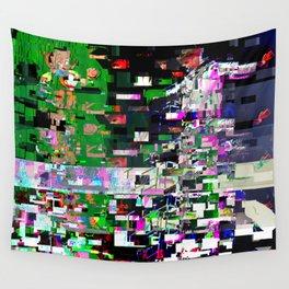 Pinocchio-Justin-Glitch Wall Tapestry