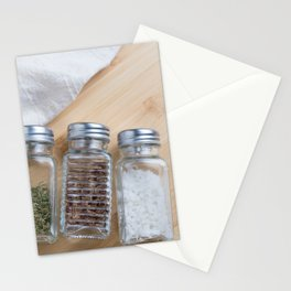 Seasoning bottles Stationery Cards