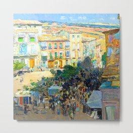 Childe Hassam Southern France Metal Print